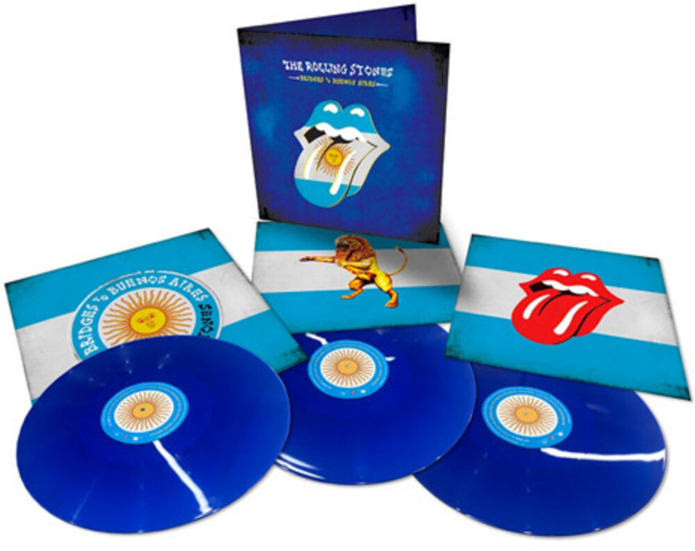 The Rolling Stones - Bridges To Buenos Aires [Limited Edition Blue 3LP]