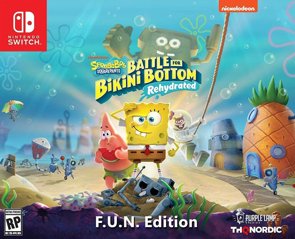 - Spongebob Battle For Bikini Bottom F.U.N. Ed