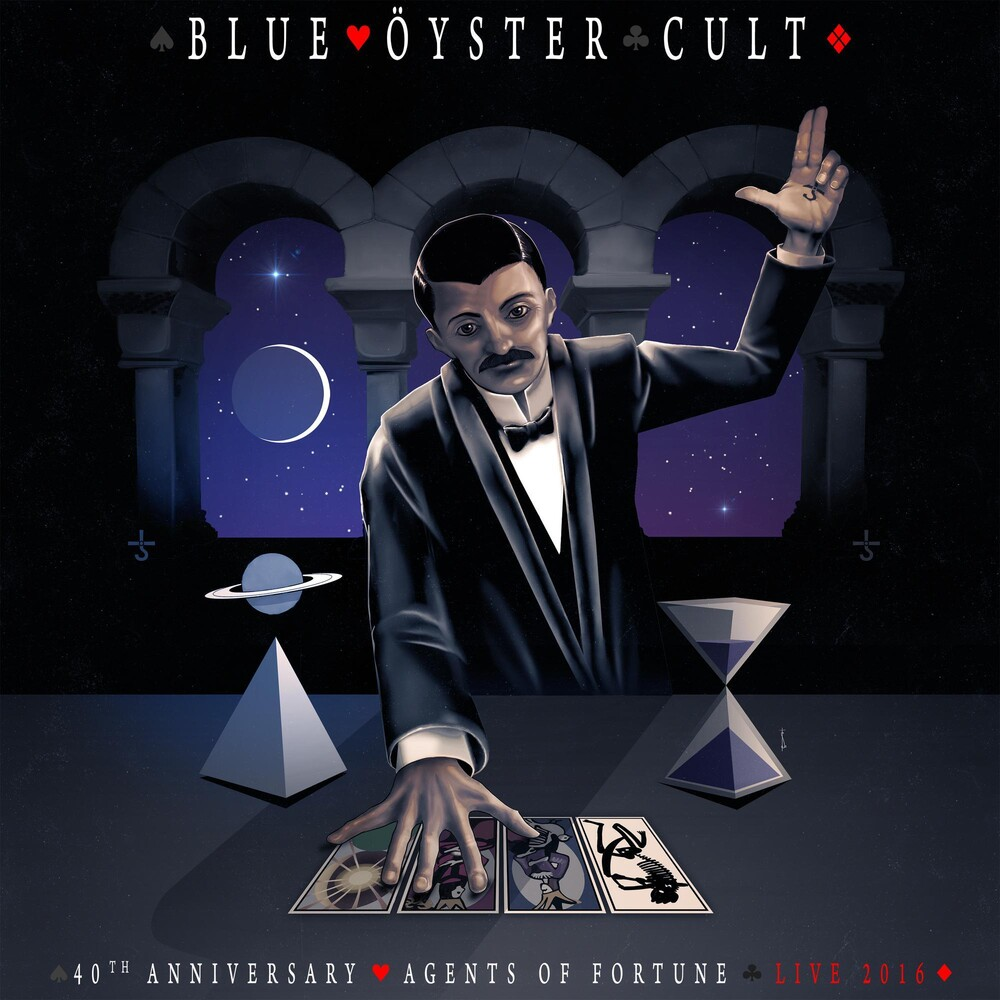Blue Oyster Cult - 40th Anniversary - Agents Of Fortune - Live 2016 [LP]