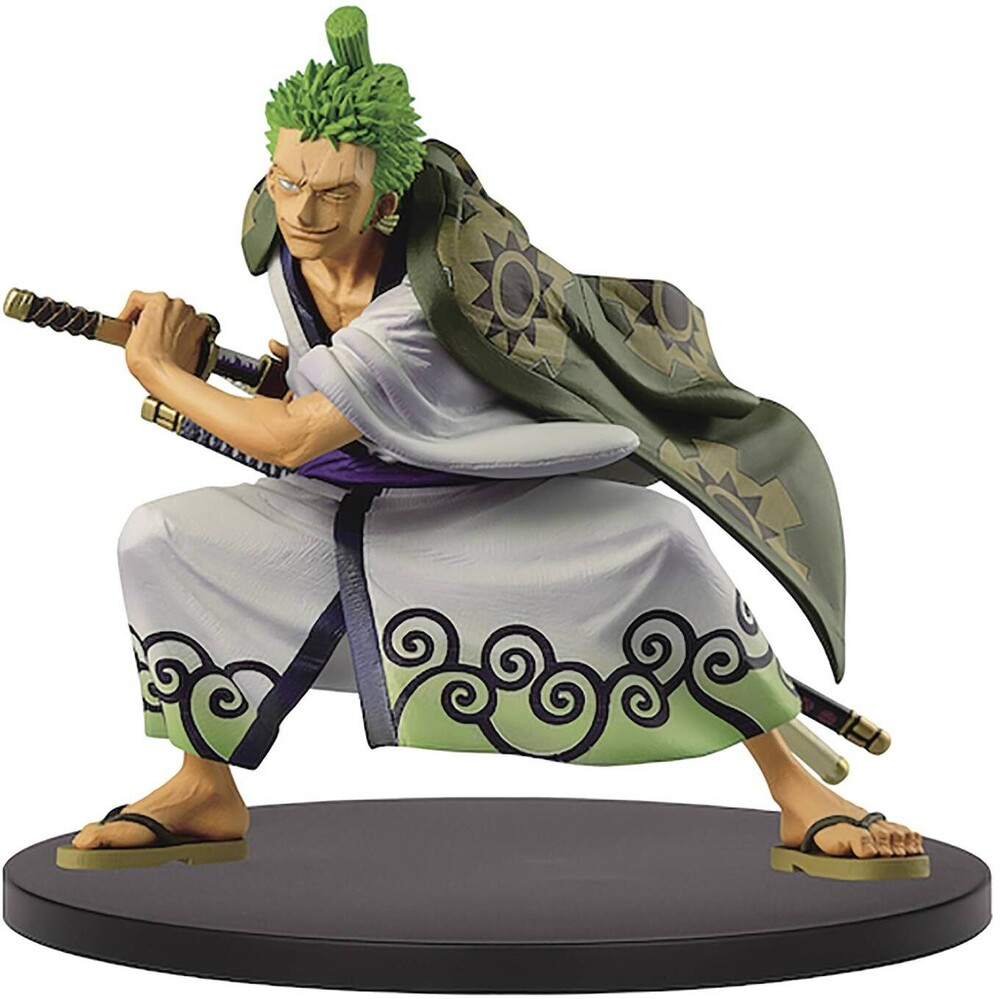 Banpresto - BanPresto One Piece King of Artist The Roronoa Zoro Wanokuni Figure
