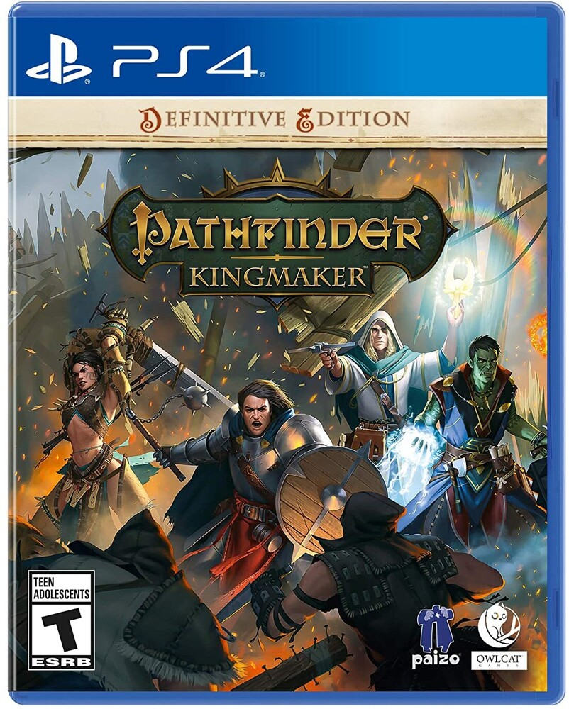 - Pathfinder Kingmaker for PlayStation 4