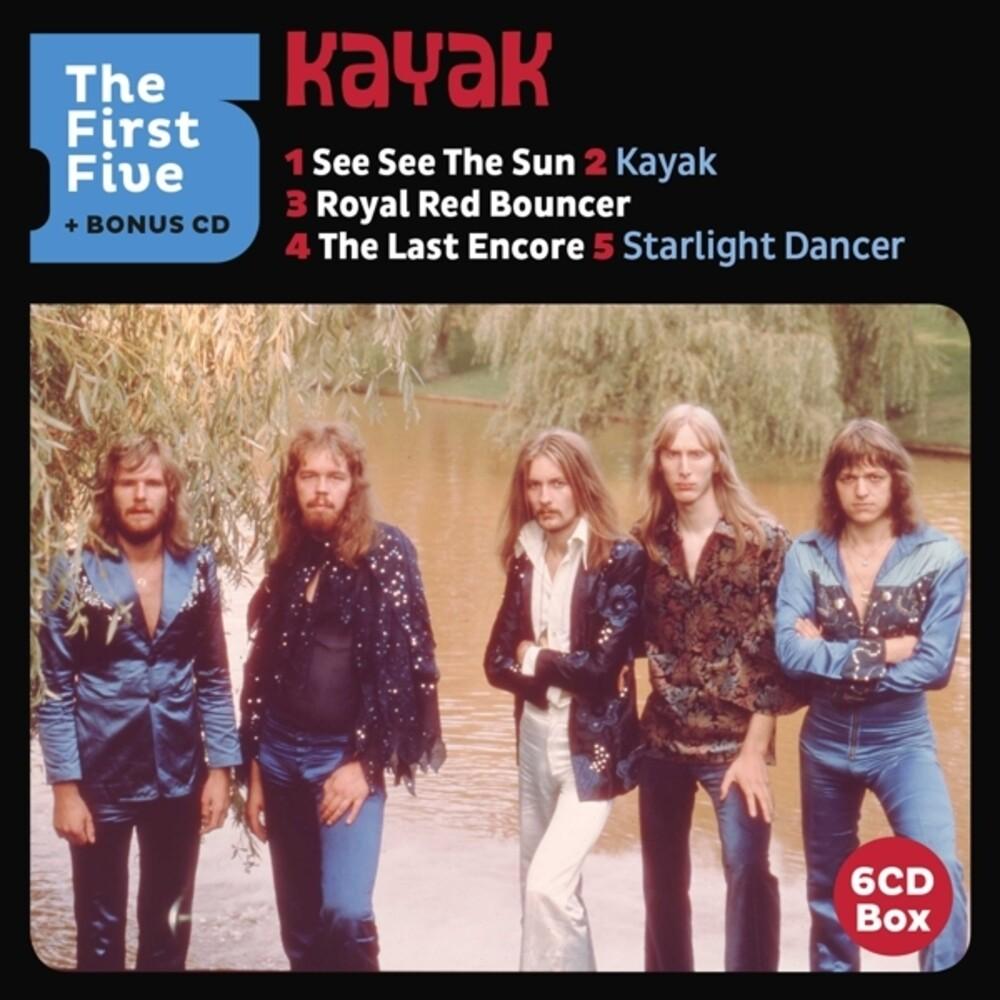 Kayak - First Five (Bonus Cd) (Box) (Hol)