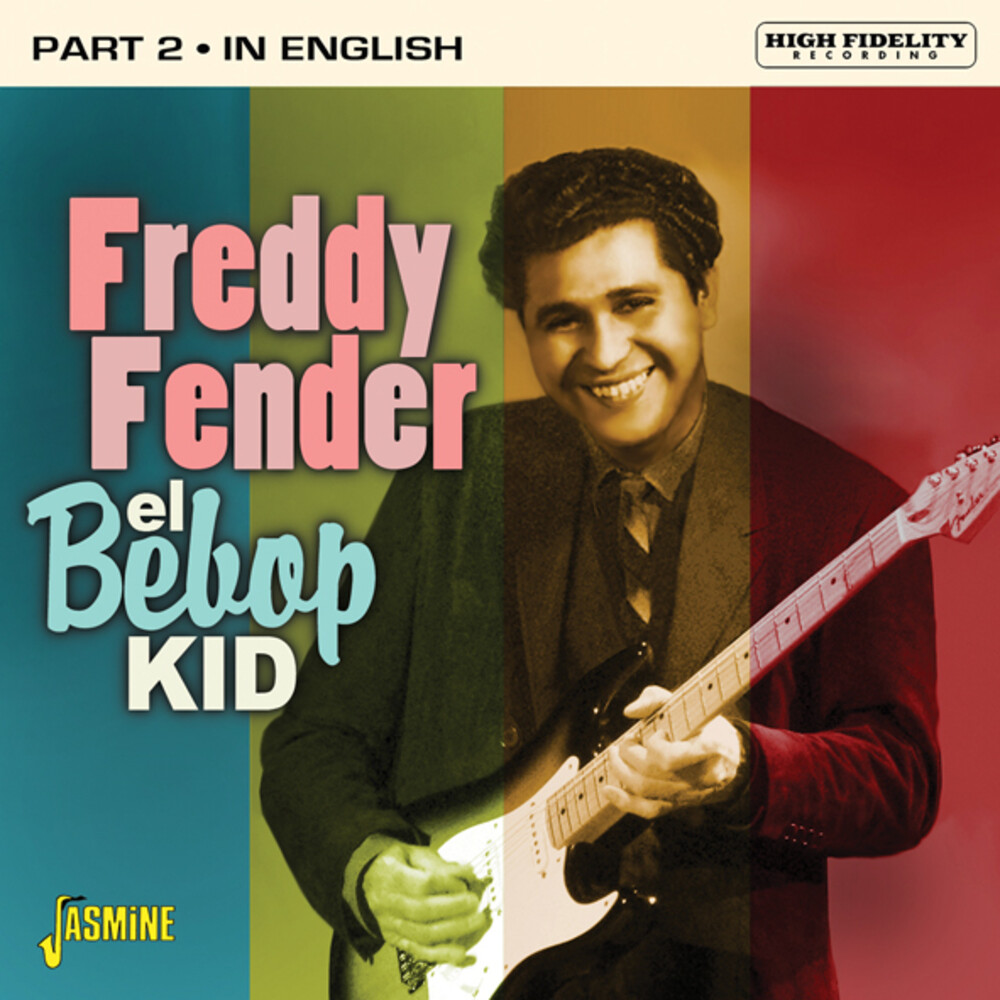 Freddy Fender - El Bebop Kid - Part 2: In English (Uk)