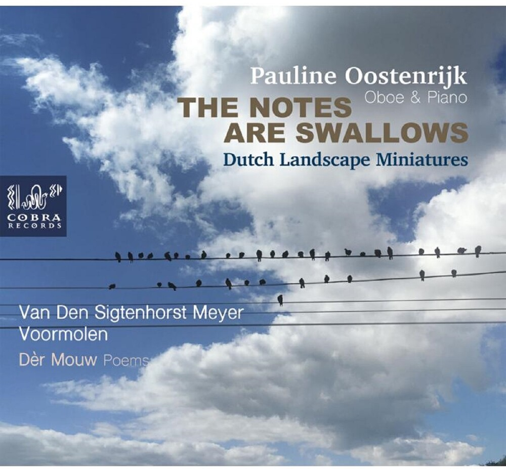 Pauline Oostenrijk - Notes Are Swallows