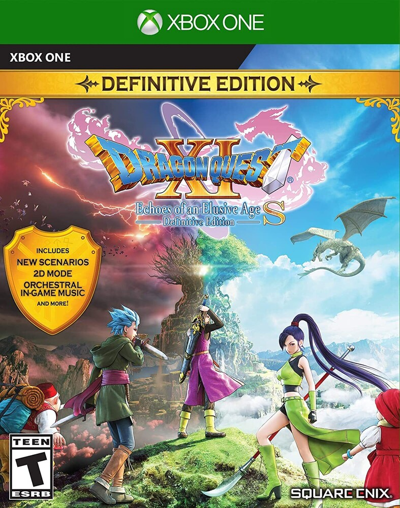Xb1 Dragon Quest Xi S: Echoes Elusive Age - Defin - DRAGON QUEST XI S: Echoes of an Elusive Age - Definitive Edition for Xbox One