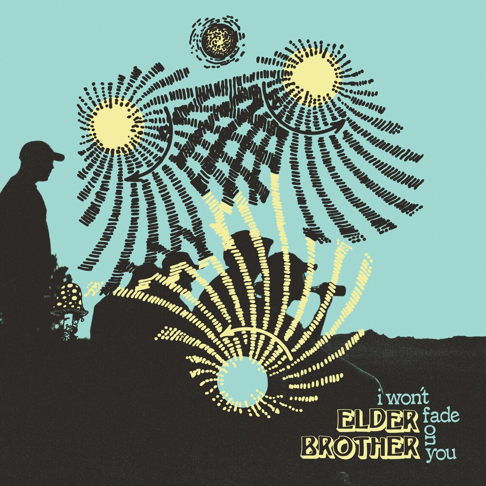 Elder Brother - I Won't Fade On You [Indie Exclusive Limited Edition Electric Blue & Easter Yellow Pinwheel LP]