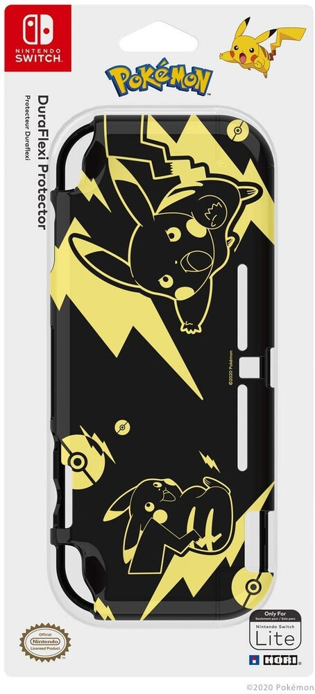 - HORI Duraflexi Protector (Pikachu Black & Gold) for Nintendo SwitchLite