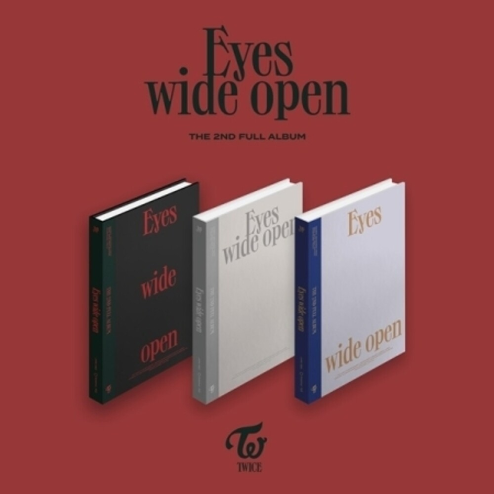 Twice - Eyes Wide Open (Random Cover) [Import]