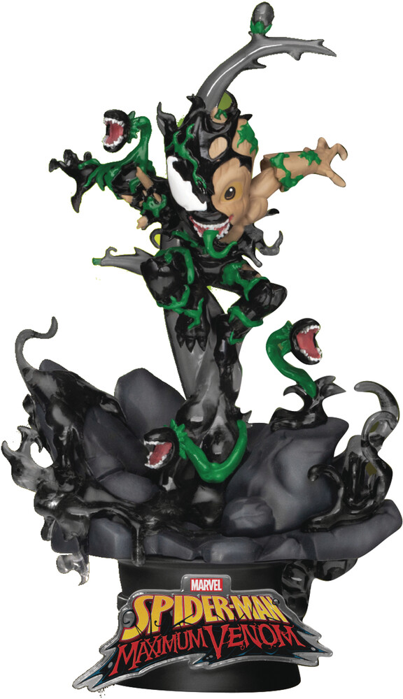 Beast Kingdom - Beast Kingdom - Maximum Venom DS-068 Little Groot D-Stage Series 6Statue