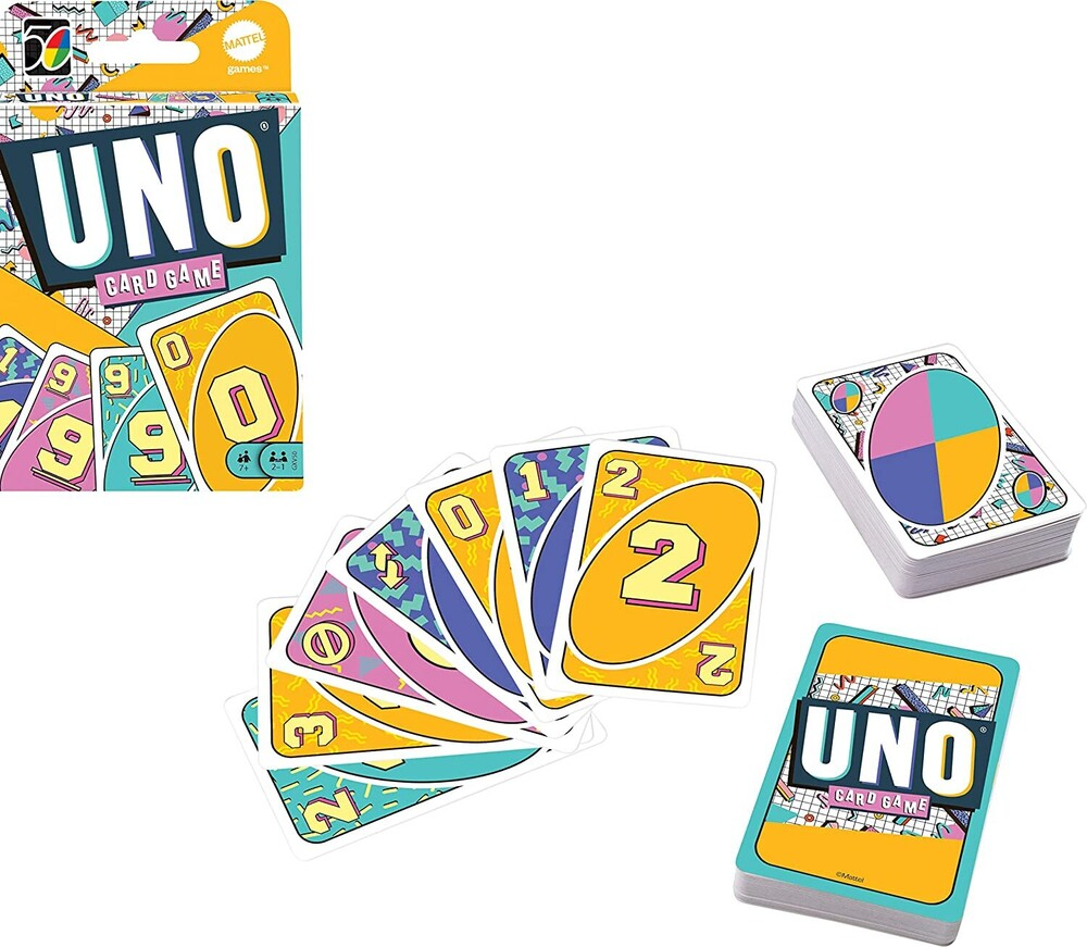 Uno - Mattel Games - UNO Iconic 1990's