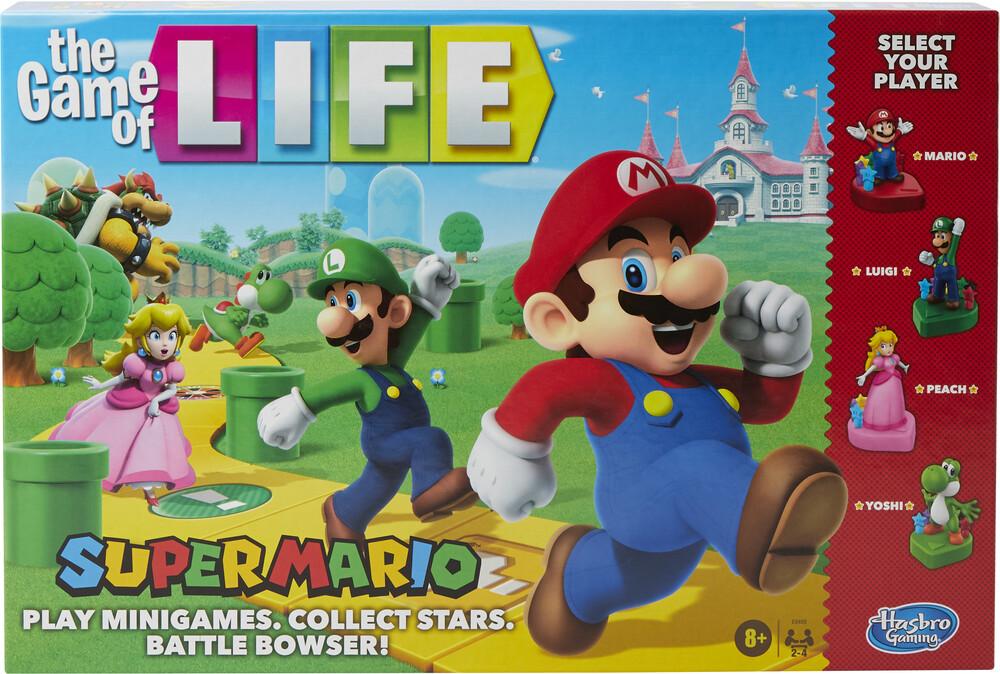 Game of Life Super Mario - Hasbro Gamming - Game Of Life Super Mario