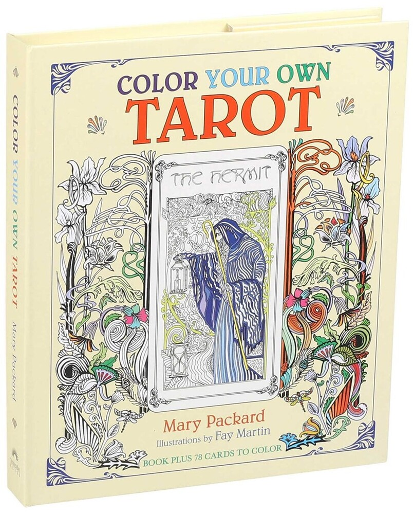 Editors of Thunder Bay Press - Color Your Own Tarot: Book Plus 78 Cards to Color
