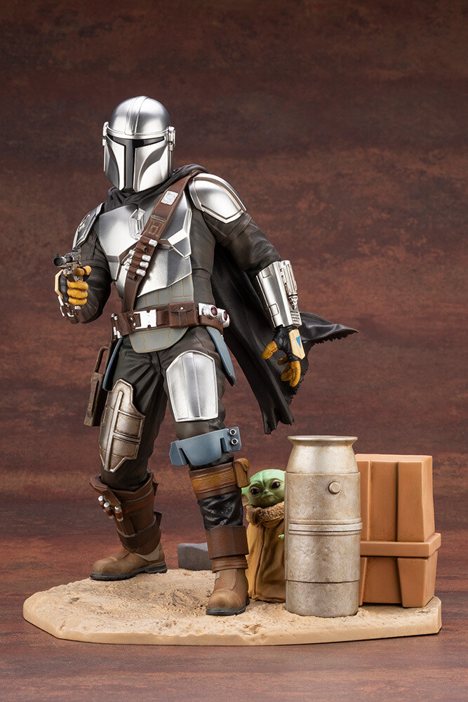 Mandalorian - Artfx Mandalorian & the Child - Kotobukiya - Mandalorian - ARTFX Mandalorian & The Child