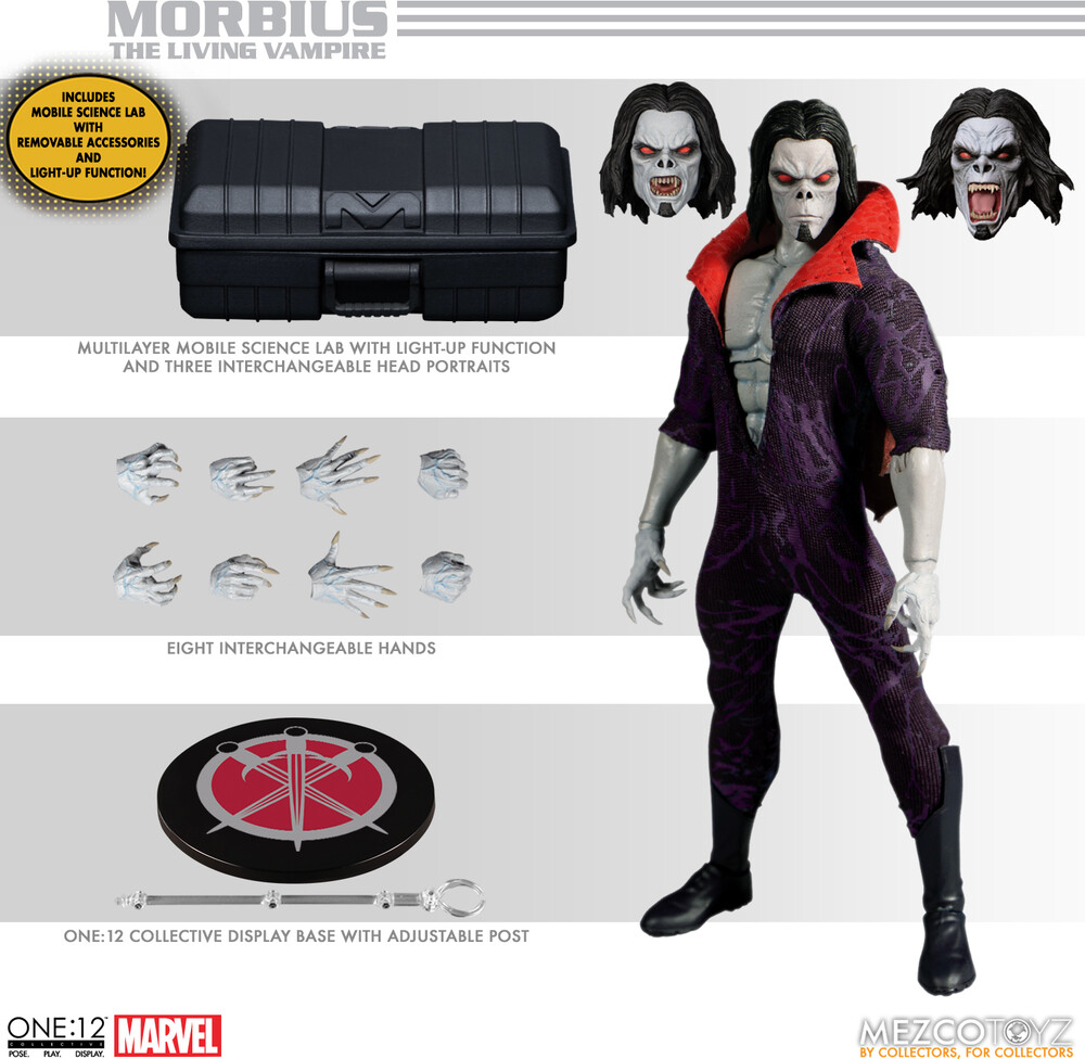 One:12 Collective Morbius - Mezco - One:12 Collective Morbius
