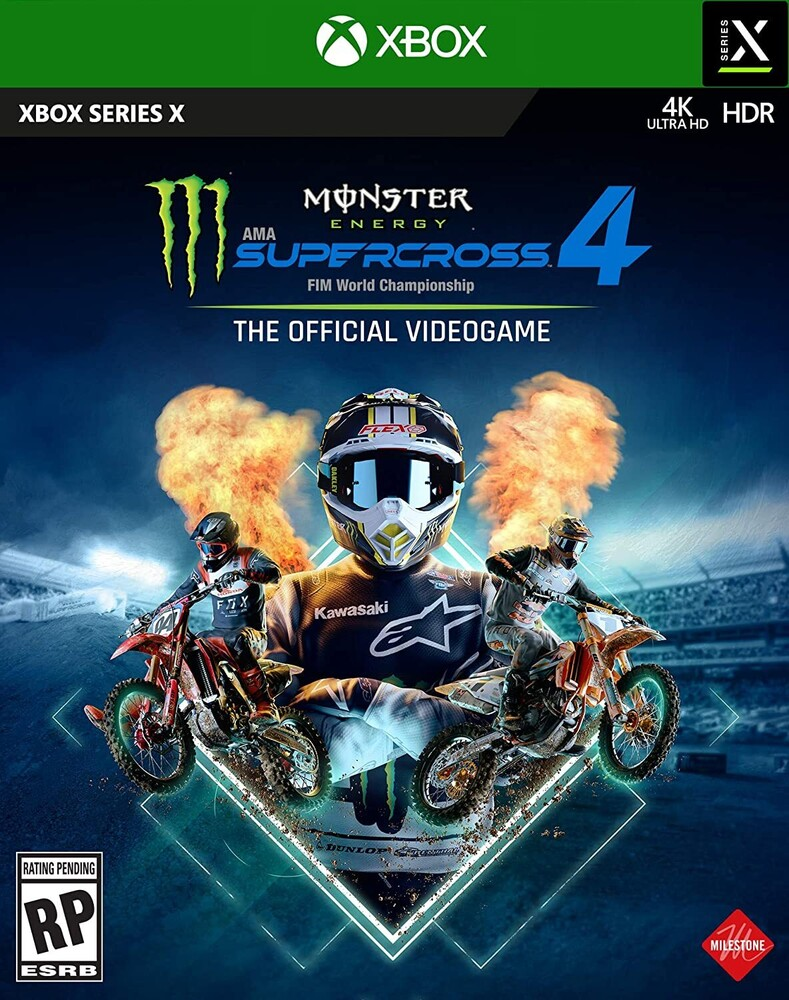 Xbx Monster Energy Supercross 4 - Monster Energy Supercross 4 for Xbox Series X