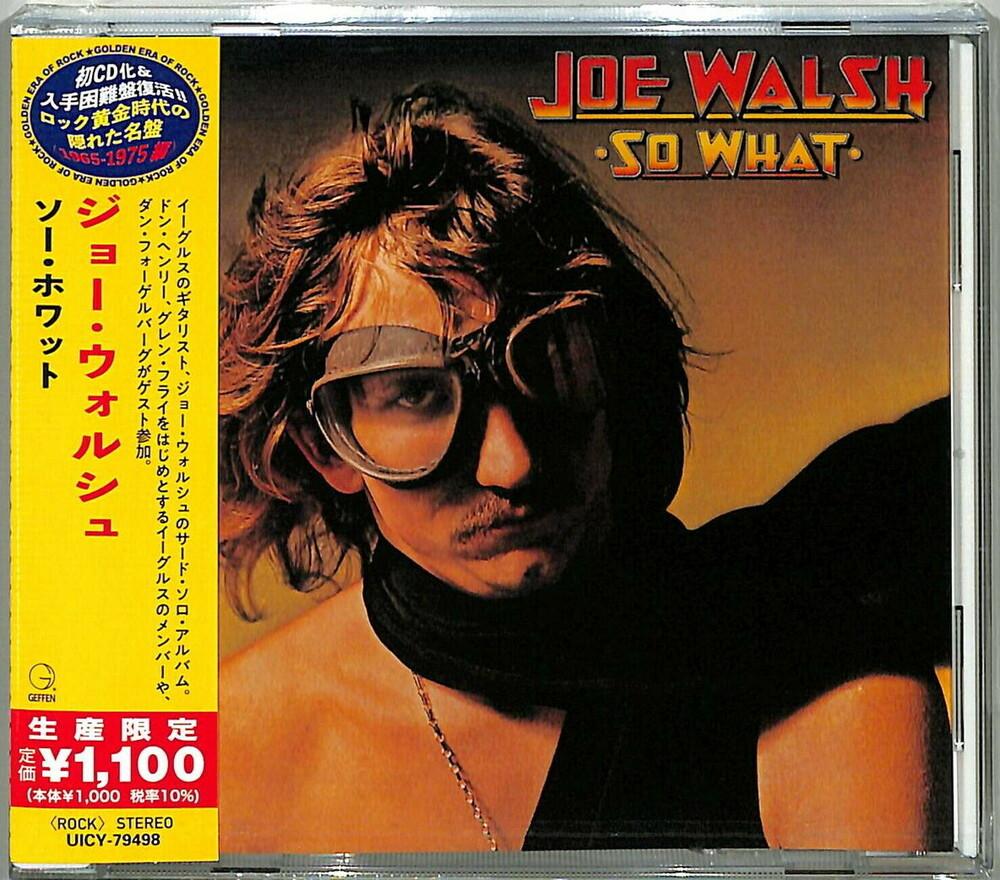 Joe Walsh - So What [Reissue] (Jpn)