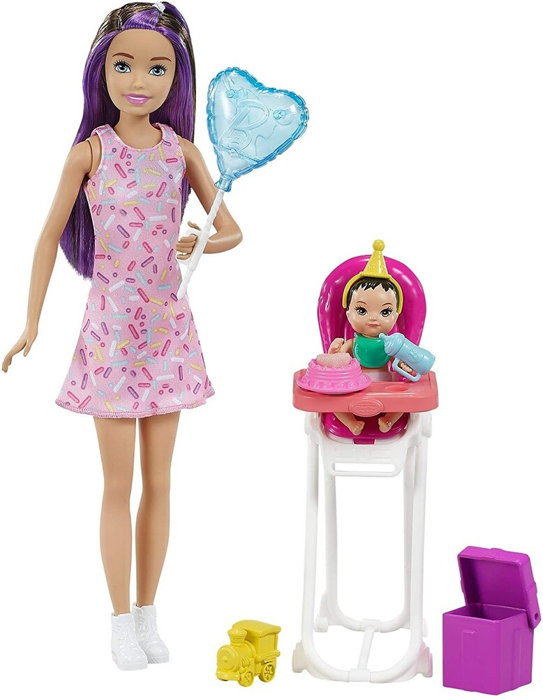 - Mattel - Barbie Skipper Babysitters Inc. Dolls & Party Playset