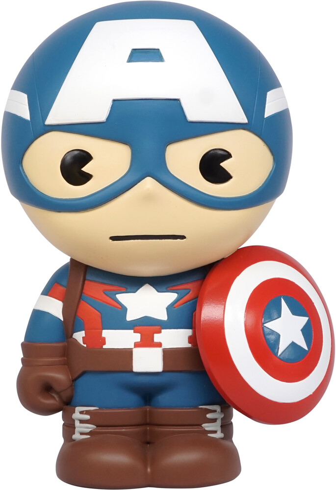 - Marvel Captain America Bank (Fig)