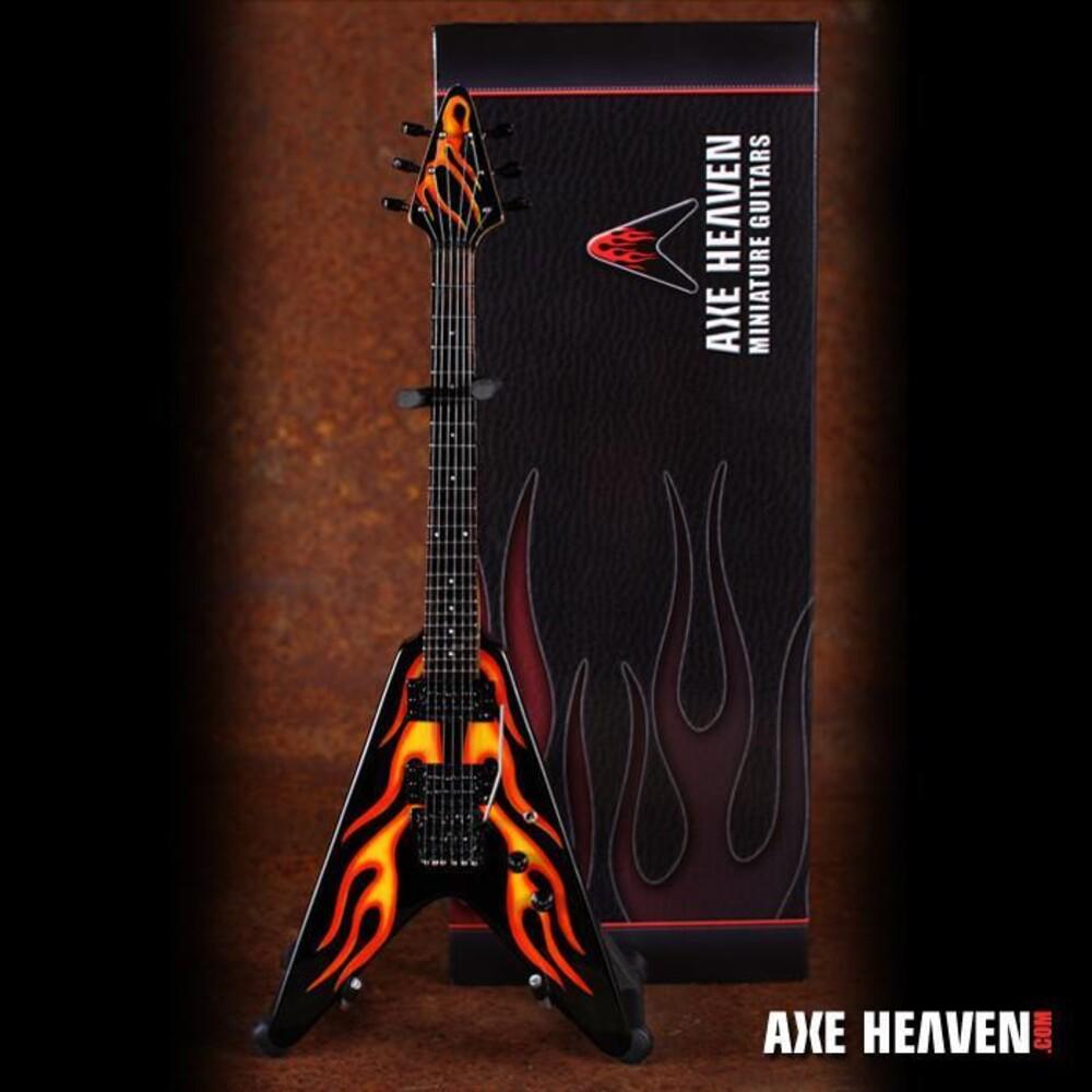 James Hetfield - James Hetfield Metallica Hr Flames V Mini Guitar
