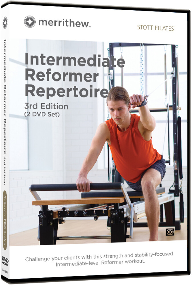 - Stott Pilates Intermediate Reform Rep 3rd Ed 2 Dvd