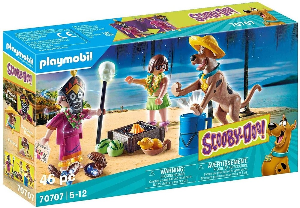 Playmobil - Scooby Doo Adventure With Witch Doctor (Fig)