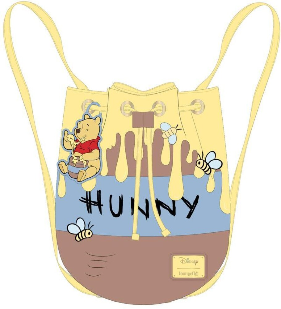 Loungefly Disney: - Winnie The Pooh 95th Anniversary Honeypot Converti