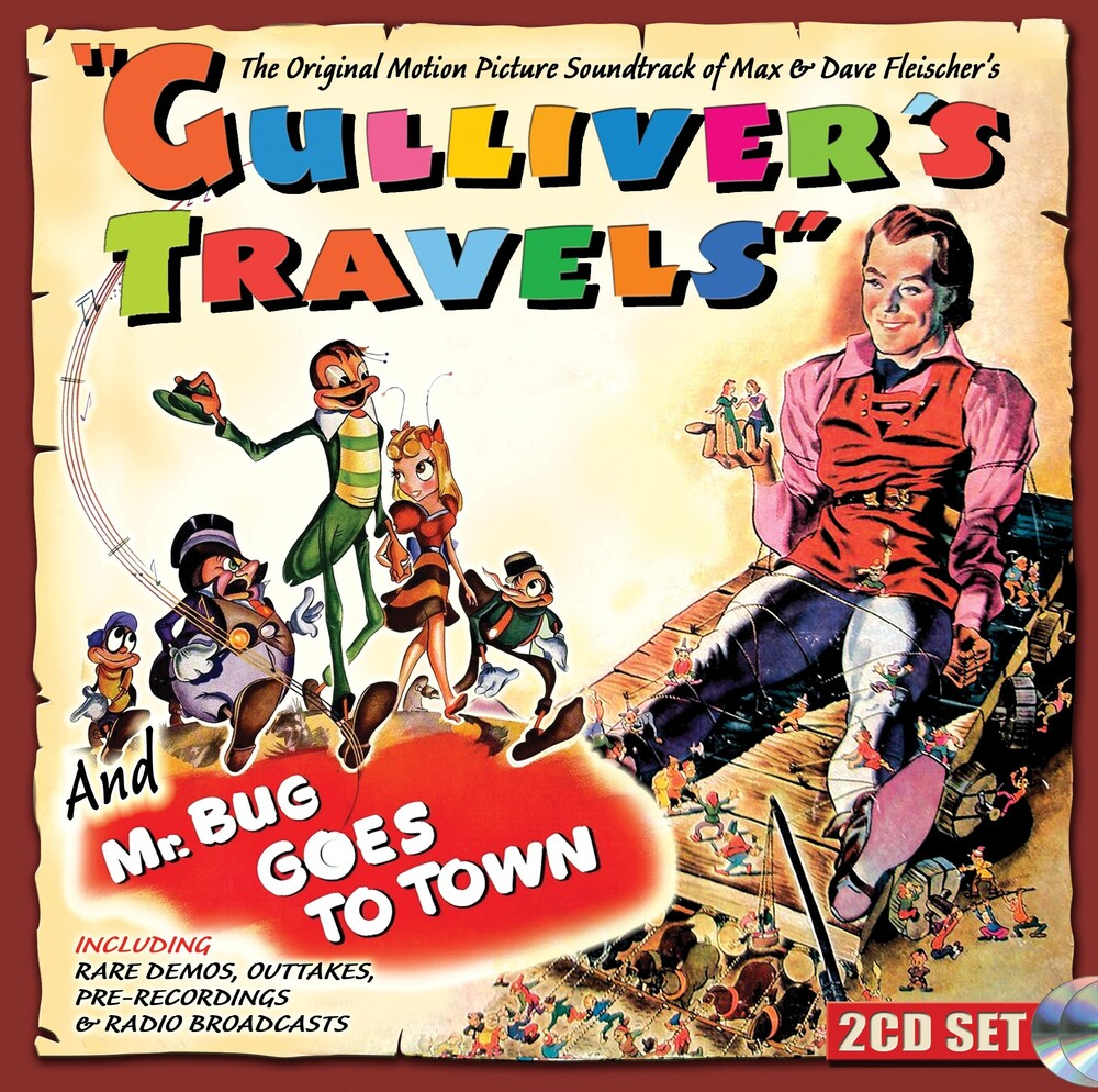 - Gulliver's Travels & Mr. Bug Goes To Town (Music From Original Motion  Picture Soundtrack)