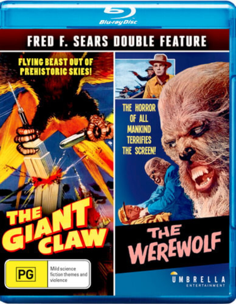 Fred F Sears: The Giant Claw & the Werewolf - Fred F. Sears: The Giant Claw & The Werewolf [All-Region/1080p]