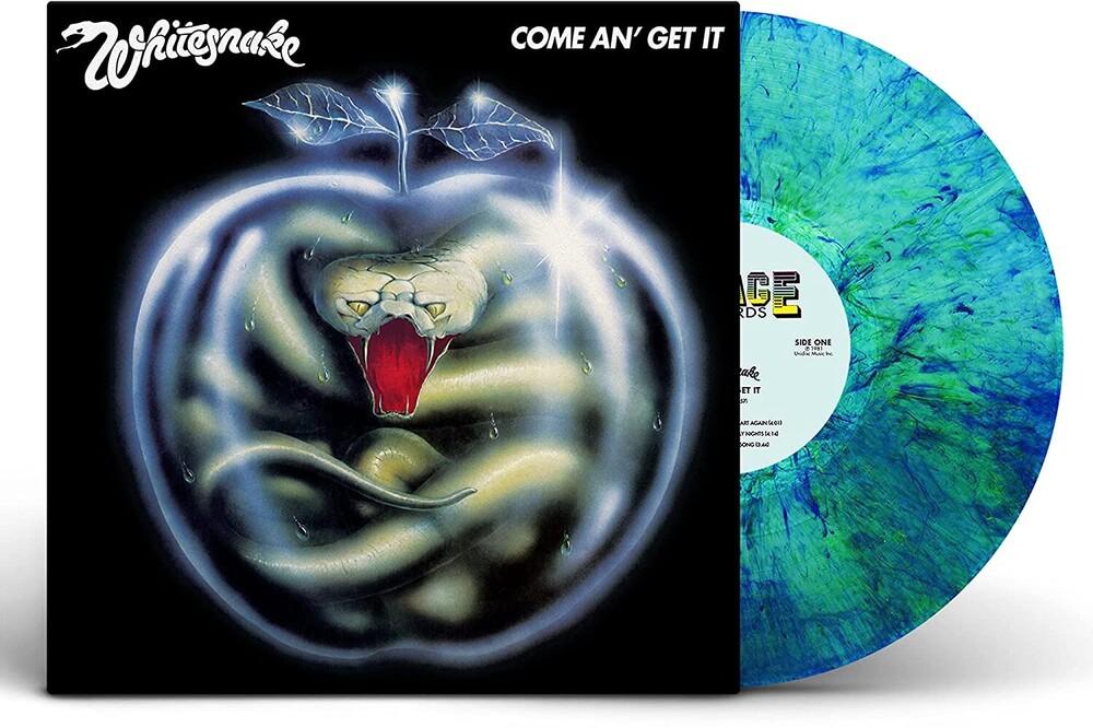 Whitesnake - Come An Get It (Blue) [Colored Vinyl] [Clear Vinyl] (Grn) [180 Gram]