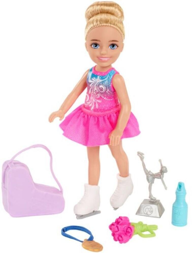 Barbie - Barbie Family Chelsea Career Ice Skater Doll