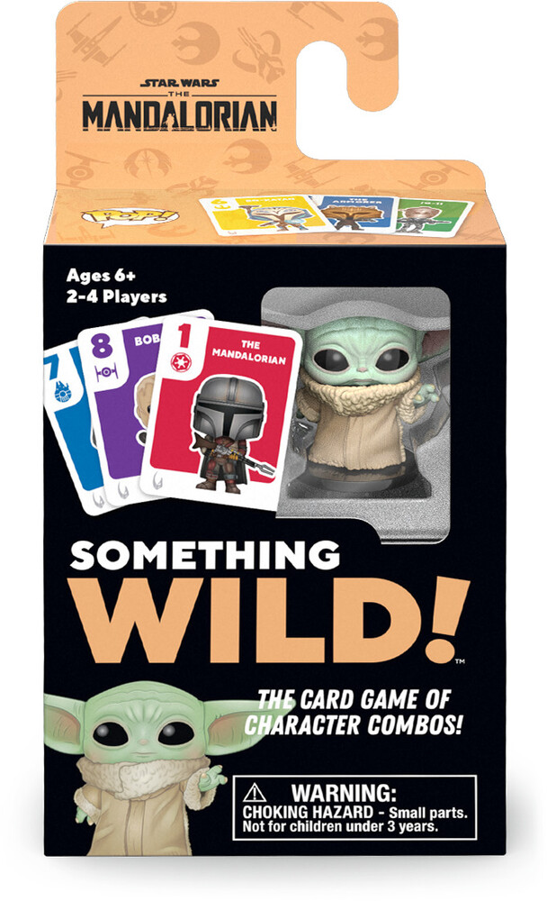 Funko Signature Games: - Something Wild! Star Wars The Mandalorian Card Gam