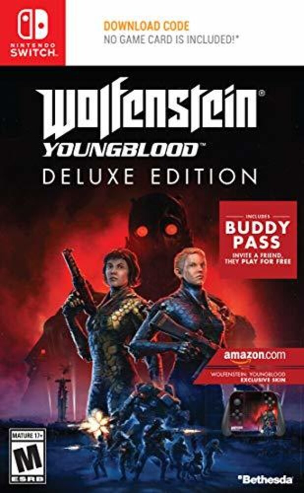 Swi Wolfenstein: Youngblood De - Wolfenstein: Youngblood De