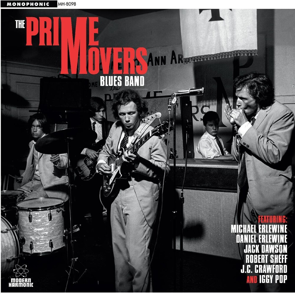 Prime Movers Blues Band - Prime Movers Blues Band