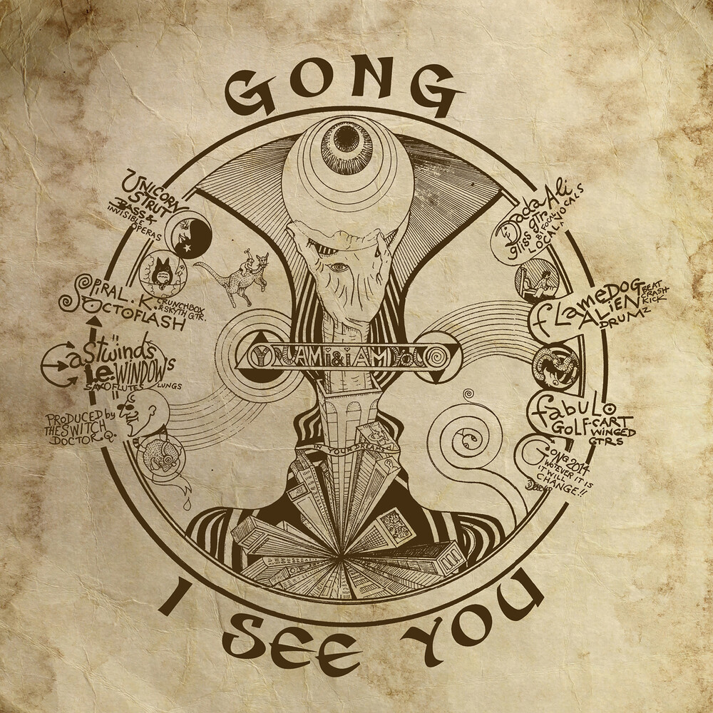 Gong - I See You (140gm Vinyl)
