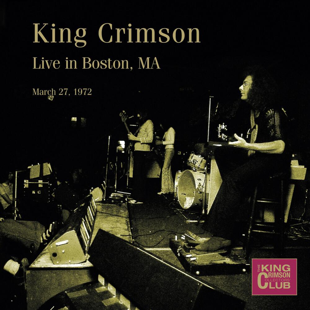 King Crimson - Live in Boston, MA, March 27, 1972