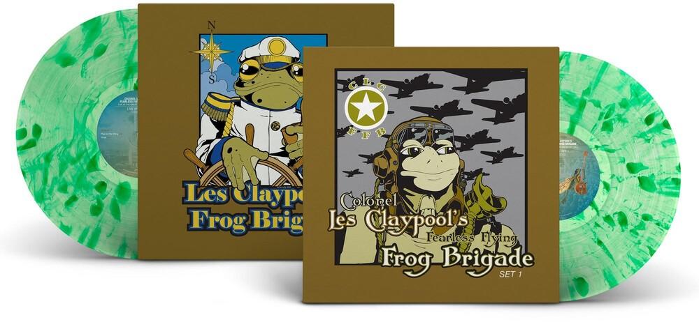 The Les Claypool Frog Brigade - Live Frogs Sets 1 & 2 [LP]