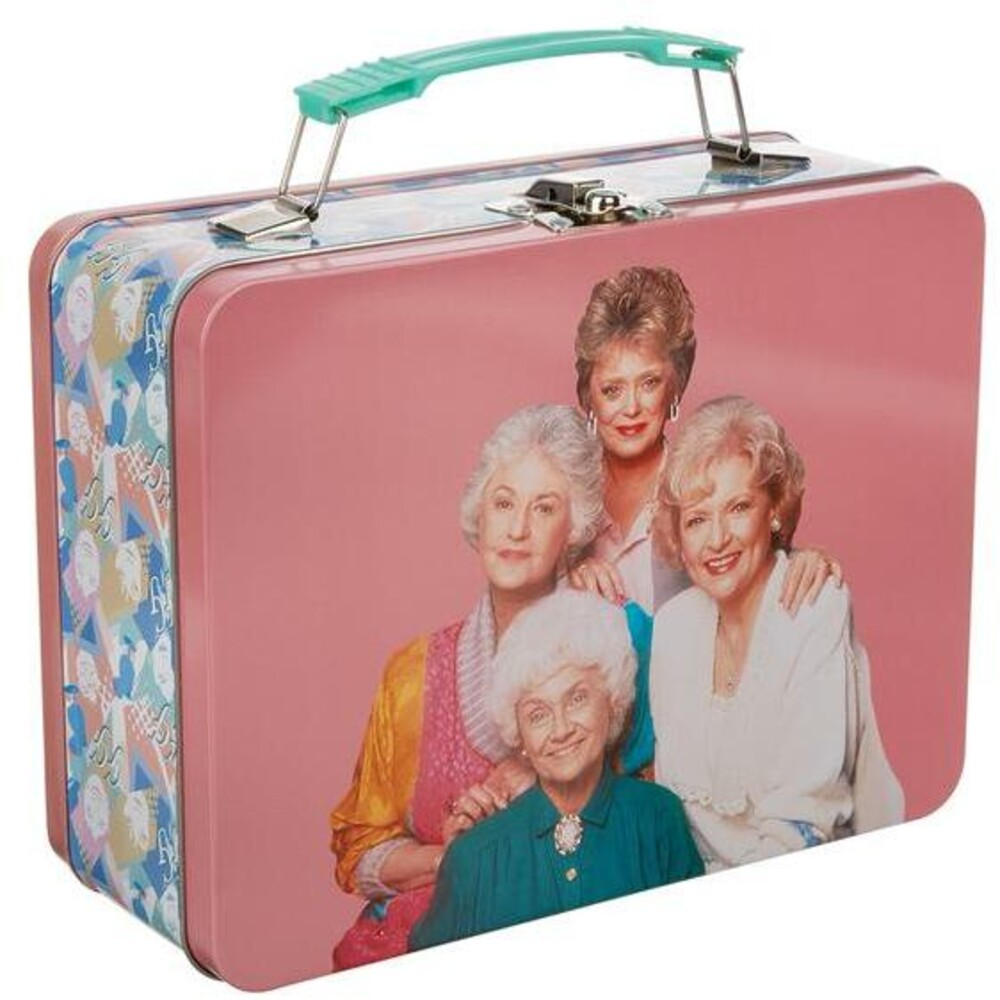 Golden Girls Large Tin Tote - Golden Girls Large Tin Tote