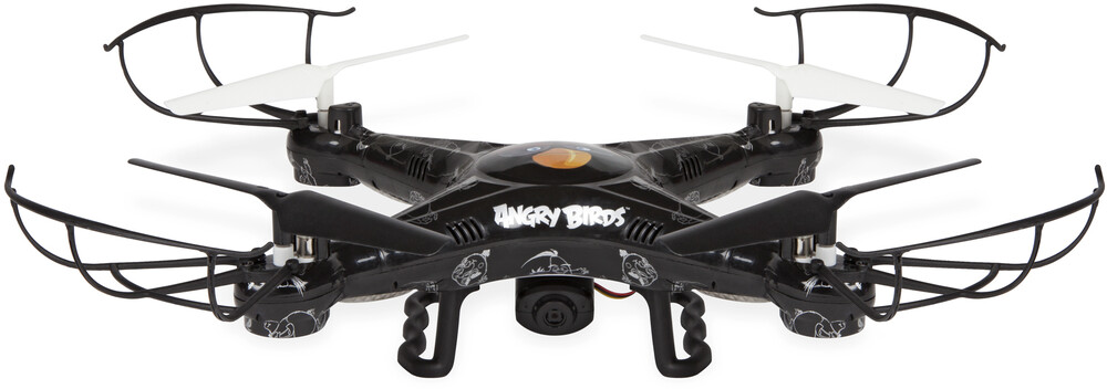 Rc Drone - Angry Birds Movie Squawk: Copter BOMB Camera Drone 2.4GHz 4.5ch Picture/Video Camera RC Quadcopter (Angry Birds)