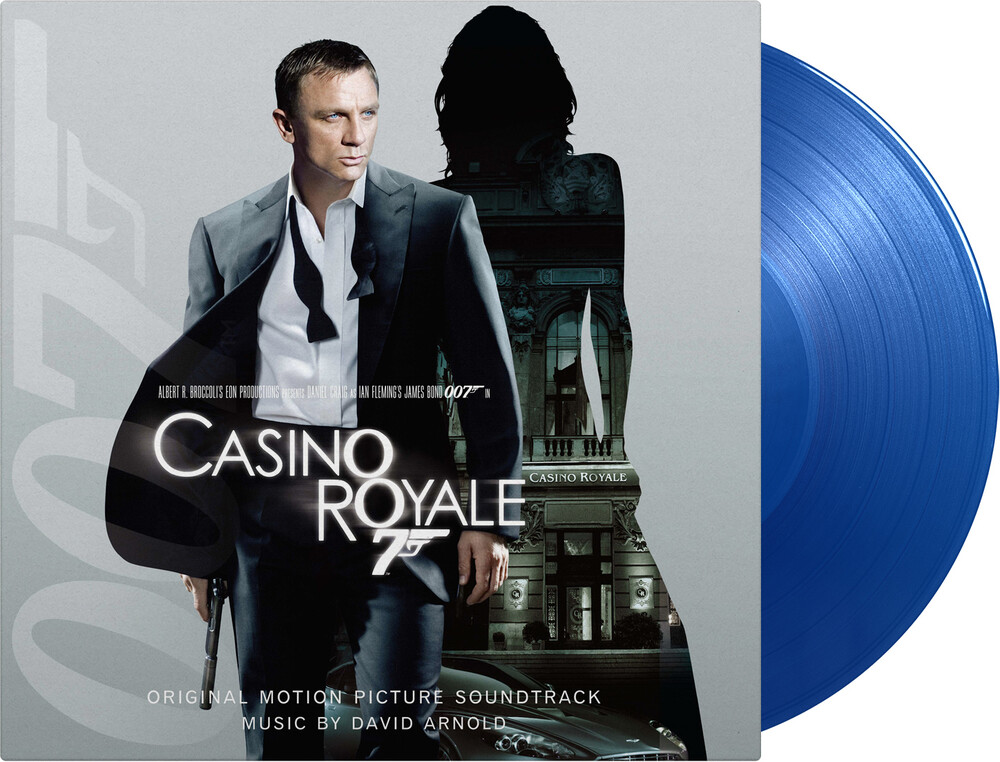 David Arnold Blue Gate Ltd Post - Casino Royale / O.S.T. (Blue) (Gate) [Limited Edition] (Post)