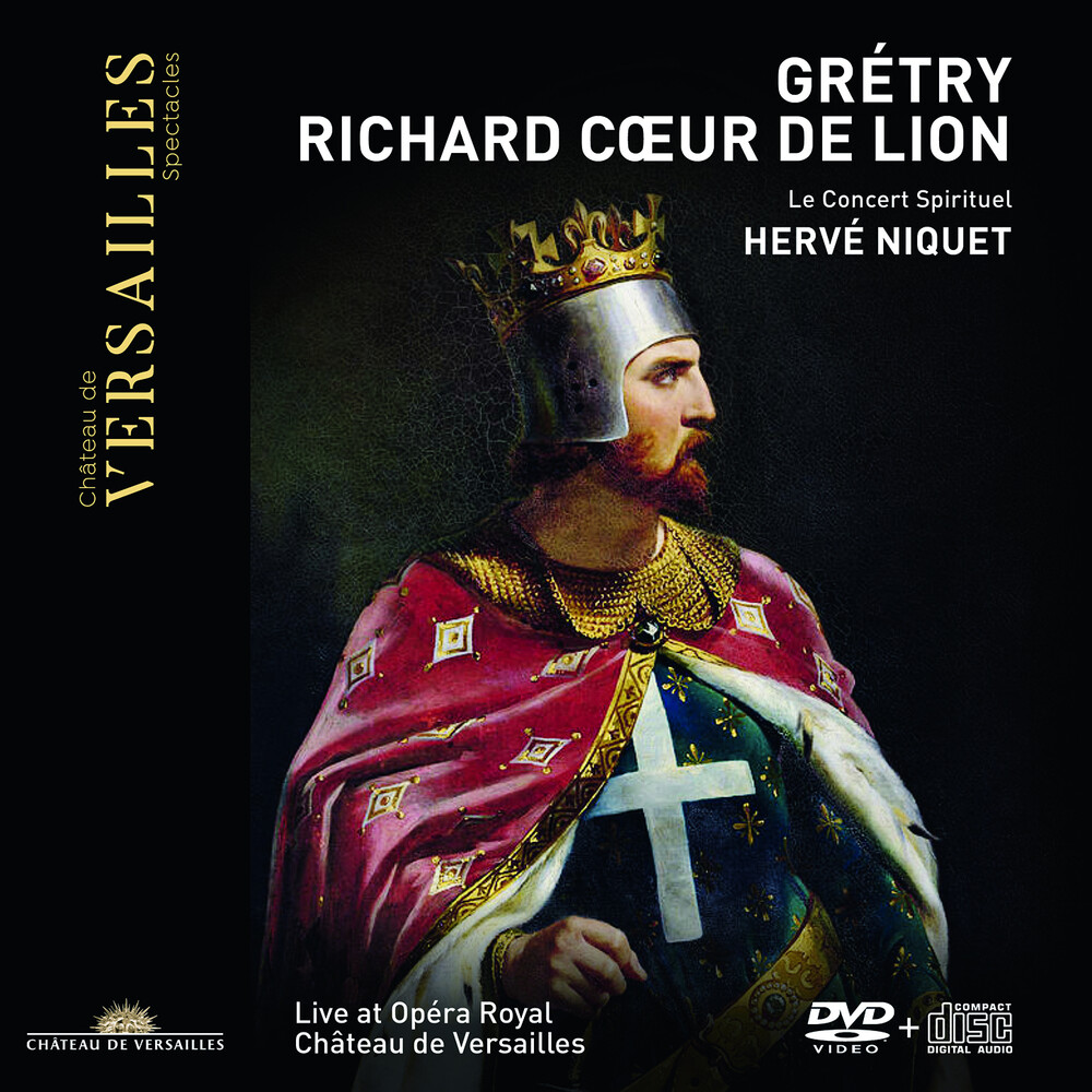 Gretry / Niquet / Concert Spirituel - Richard Coeur De Lion (W/Dvd) (2pk)