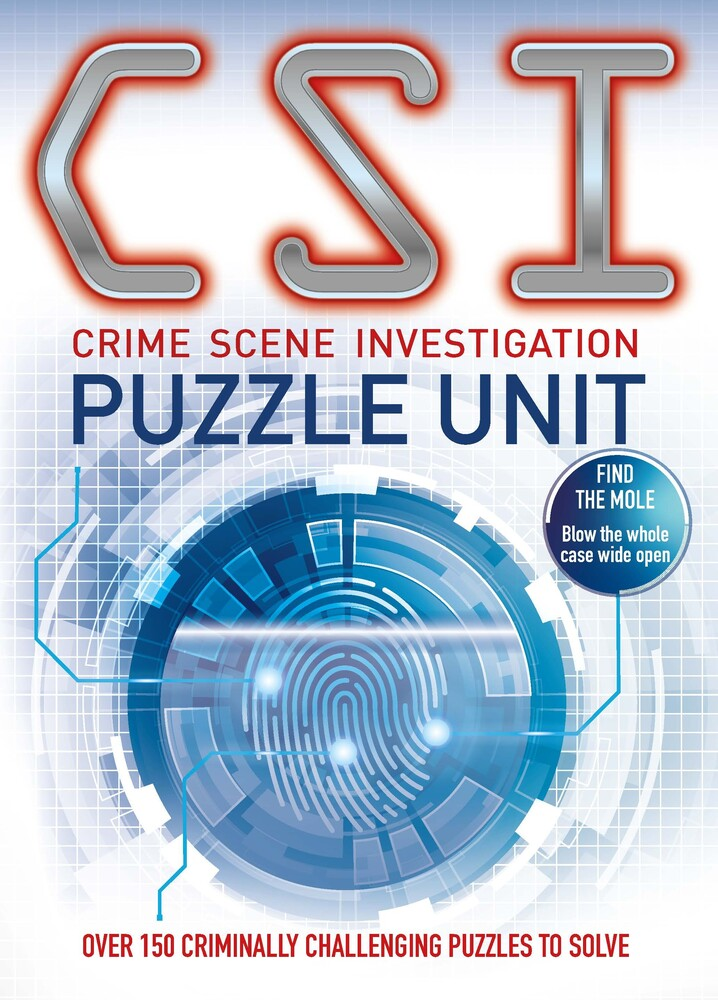 - CSI Puzzle Unit: Over 100 criminally challenging puzzles to solve