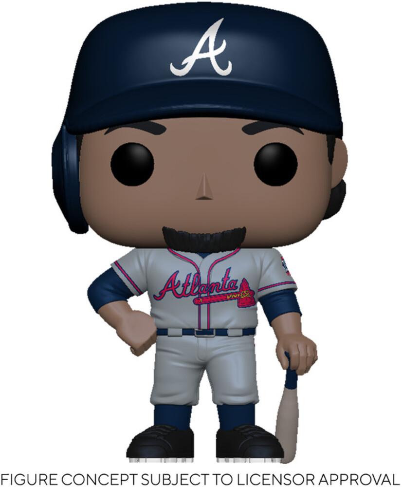 Funko Pop! MLB: - Braves- Ozzie Albies (Road Uniform)