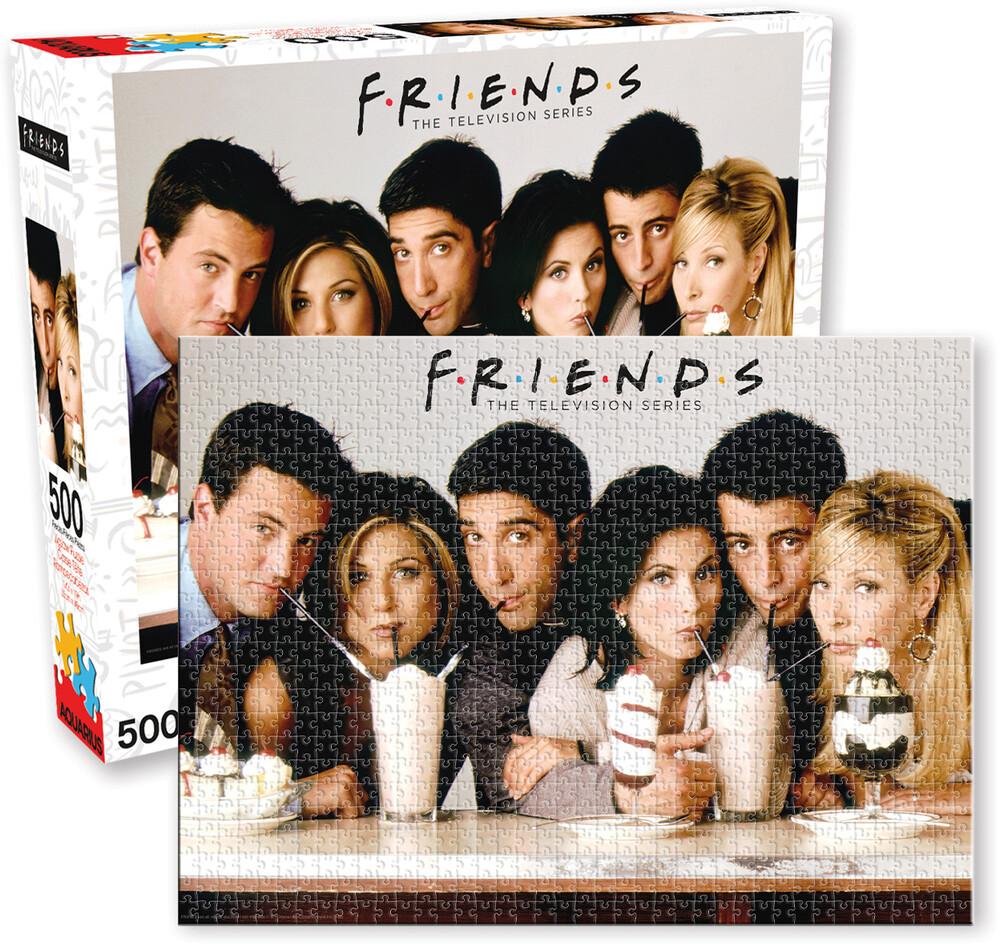 Friends Milkshake 500 PC Jigsaw Puzzle - Friends Milkshake 500 Pc Jigsaw Puzzle