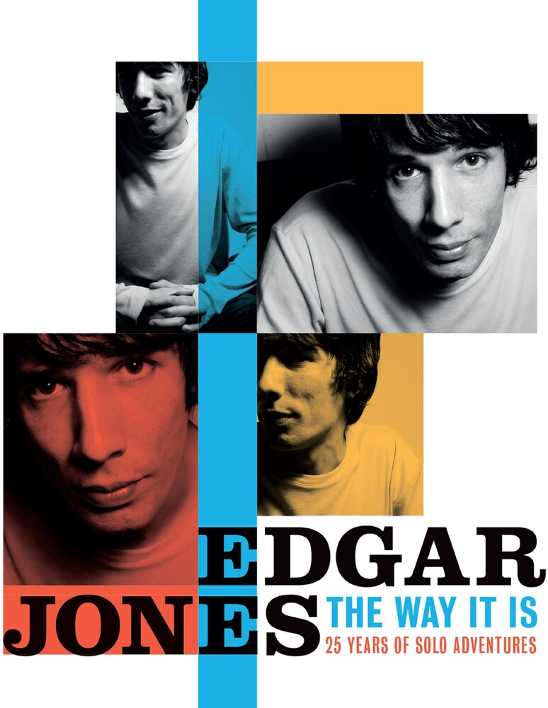 Edgar Jones - Way It Is: 25 Years Of Solo Adventures