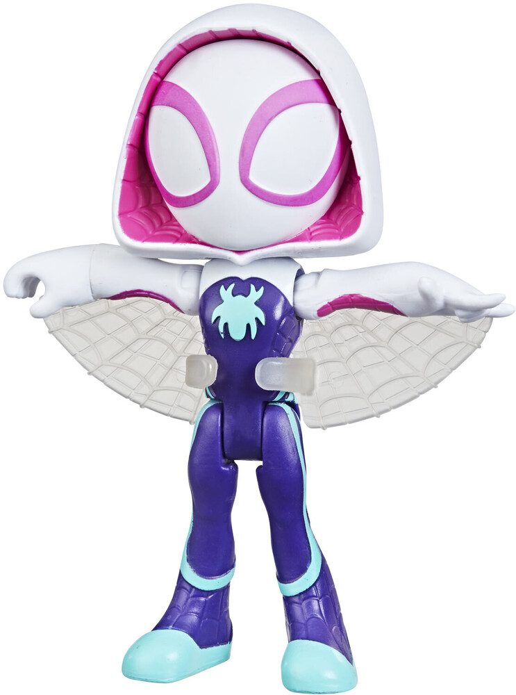 Saf Ghost Spider Figure - Hasbro Collectibles - Spidey And His Amazing Friends Ghost SpiderFigure