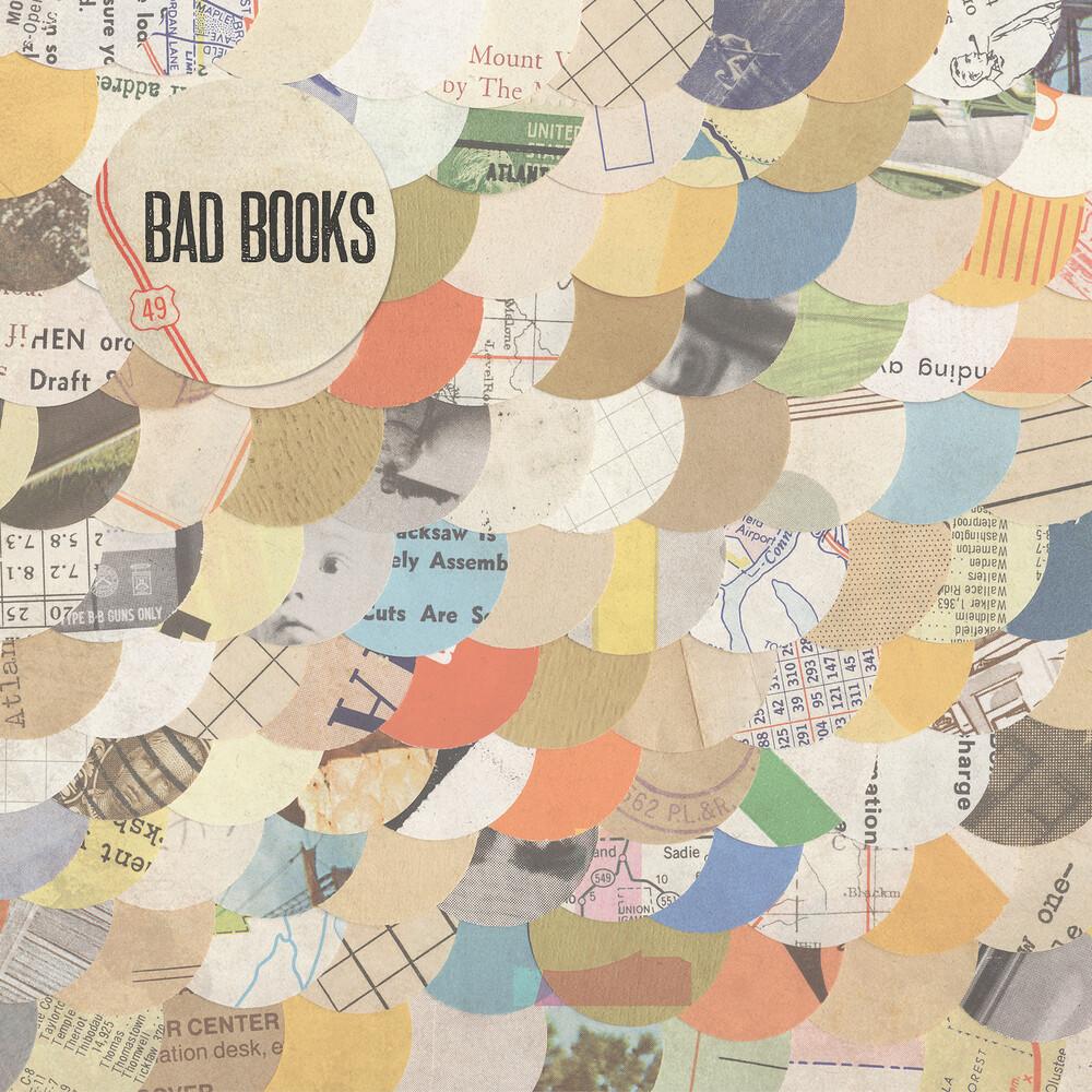 Bad Books - Bad Books (Cream With Orange Yellow Blue Splatter)
