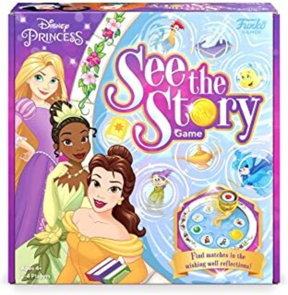 - FUNKO SIGNATURE GAMES: Disney Princess See The Story Game