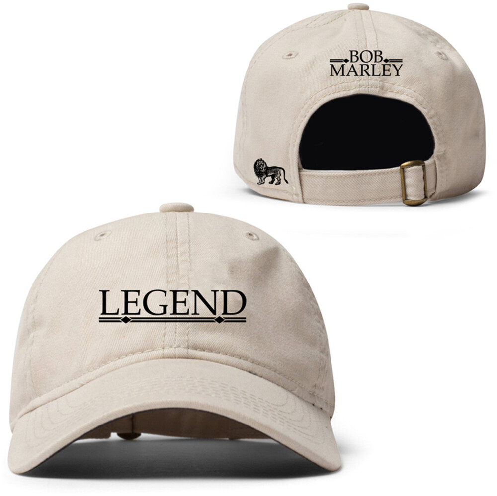 Bob Marley Legend Adjustable Baseball Cap Osfm - Bob Marley Legend Adjustable Baseball Cap Dad Hat OSFM
