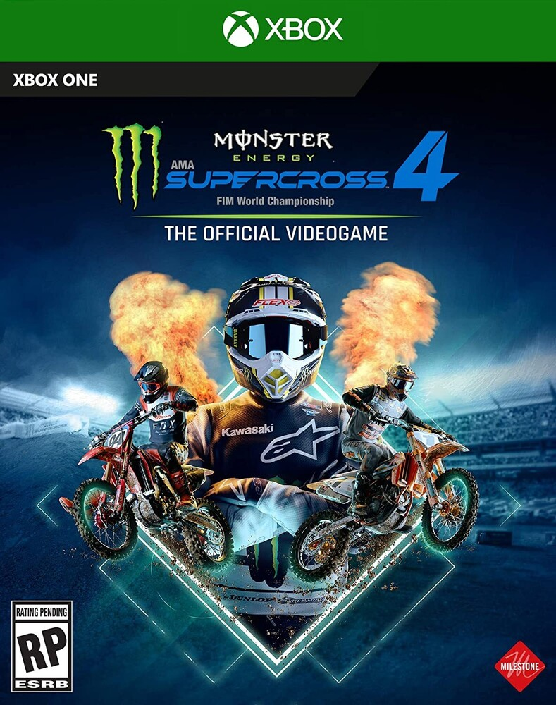 Xb1 Monster Energy Supercross 4 - Monster Energy Supercross 4 for Xbox One