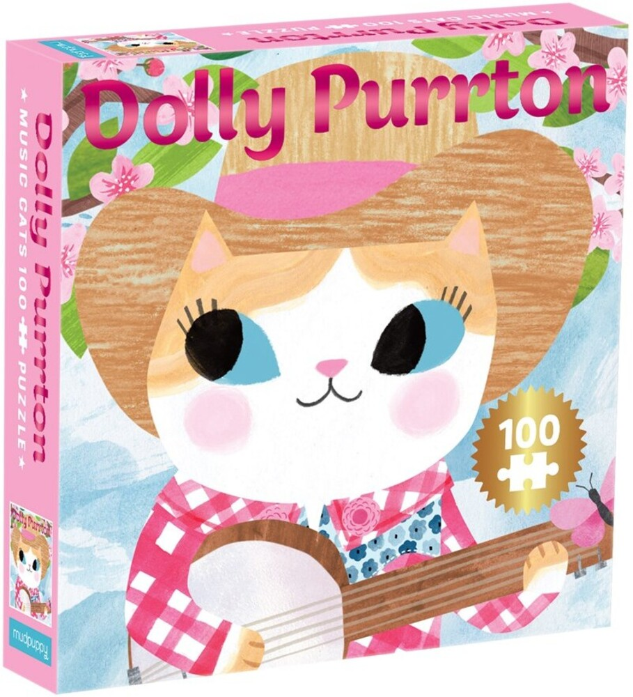 - Dolly Purrton Music Cats 100 Piece Puzzle